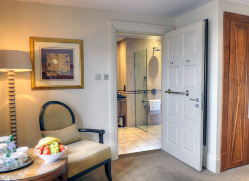 One of our luxurious suites