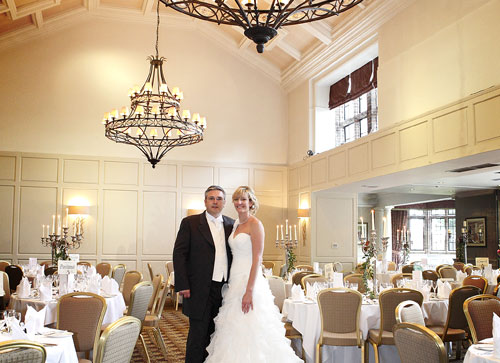 The stunning Cathedral Ballroom