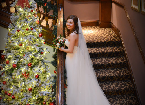 The magic of a winter wedding at Western House...