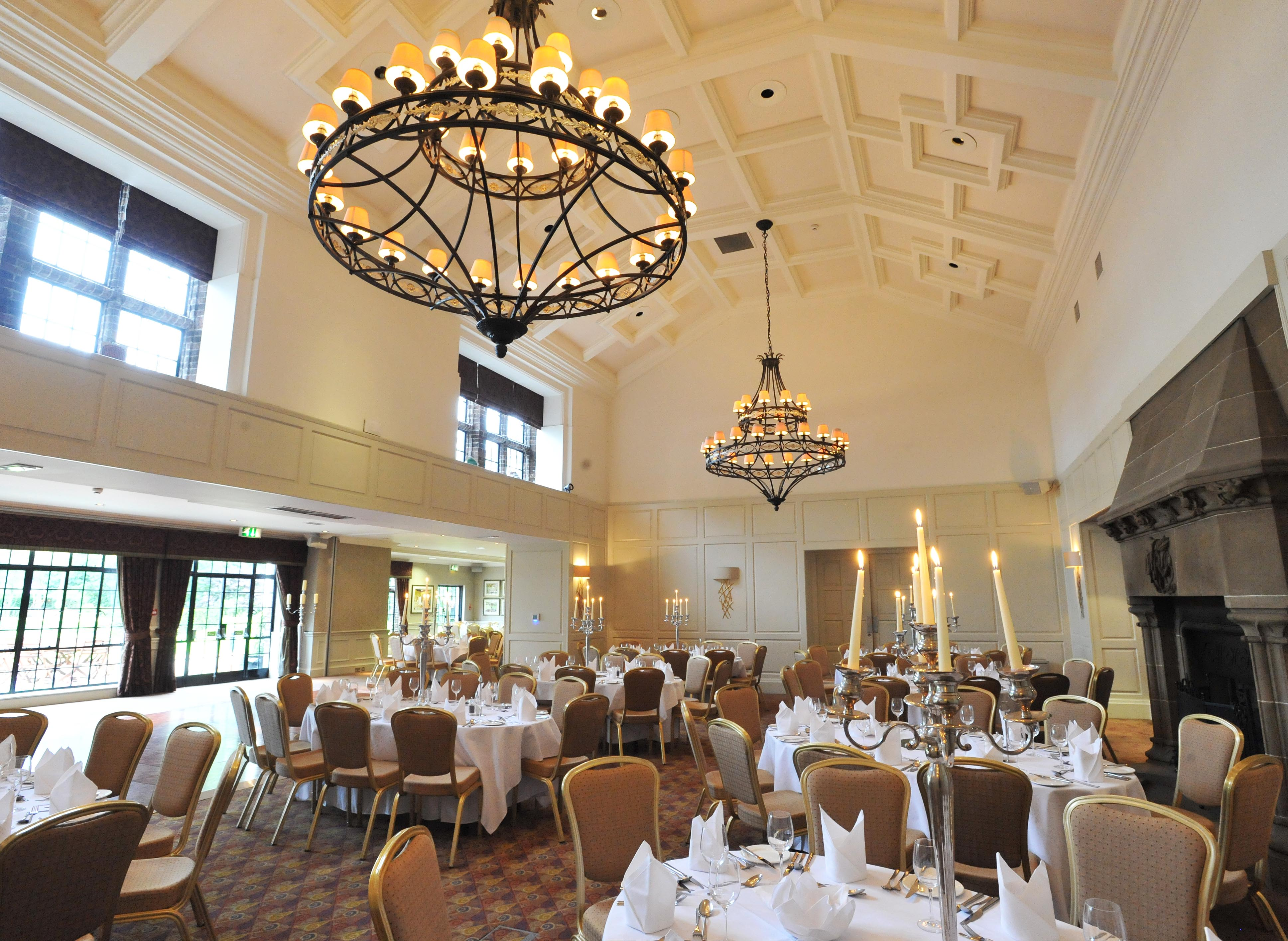 Our stunning Cathedral Ballroom is the perfect venue for your Prom.