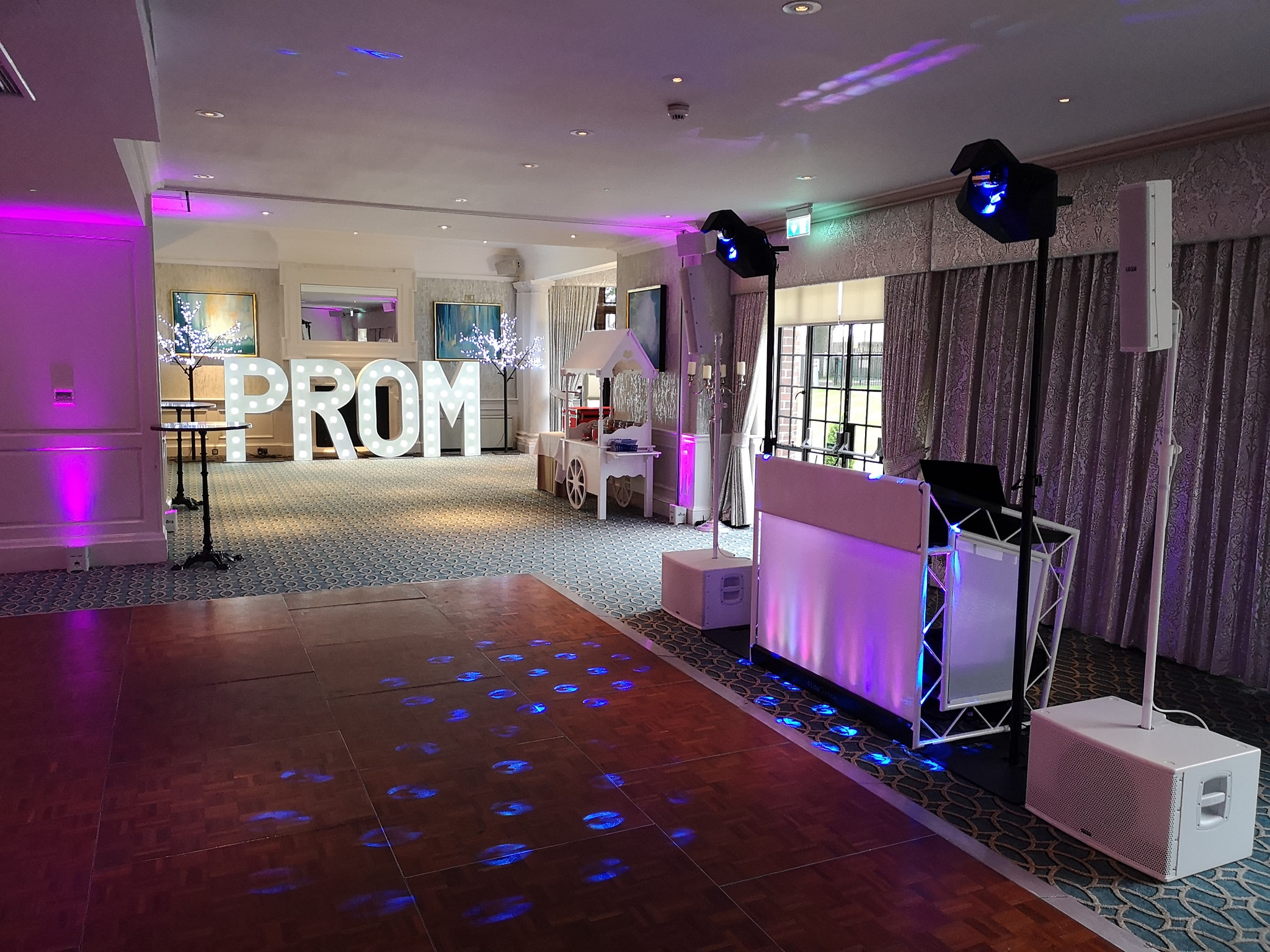The perfect place to dance the night away at Western House Hotel