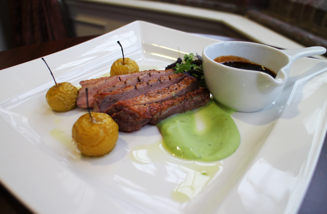 Indulge in a delicious three course meal in our Jockey Club Restaurant
