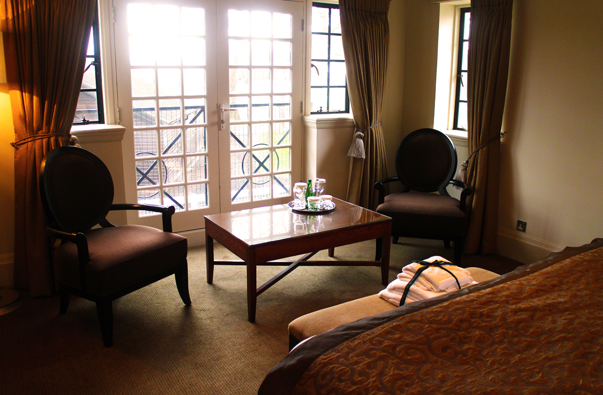 Our Terraced Suite