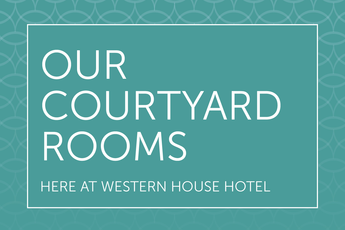 We have various room options within our Courtyard