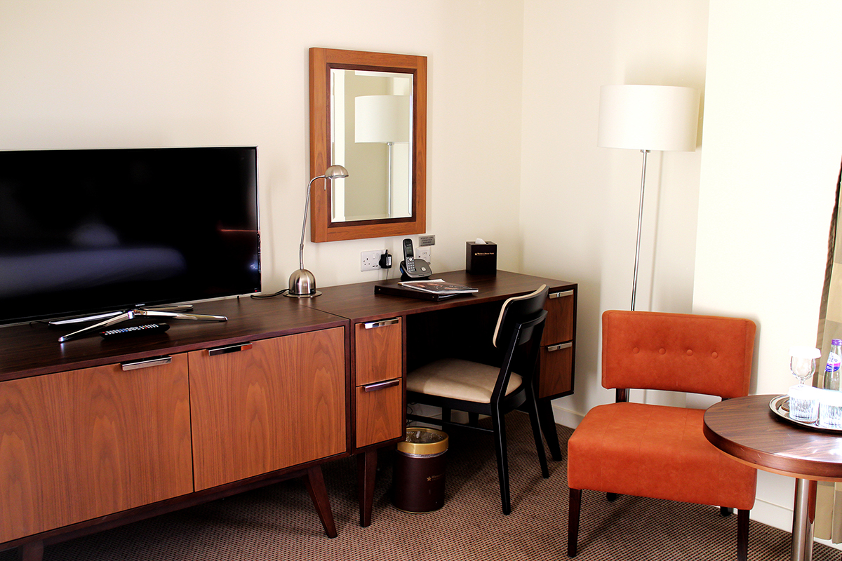 All rooms now feature Flat Screen Smart TV's