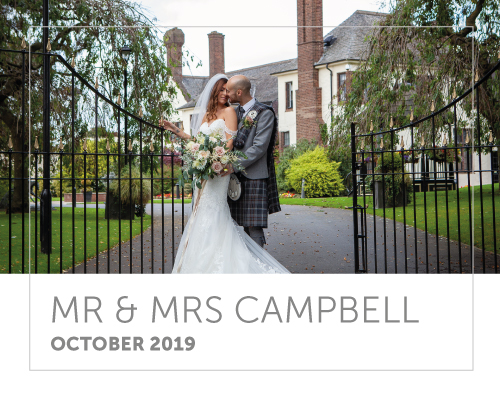 Mr and Mrs Campbell